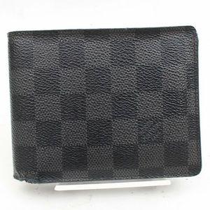 LOUIS VUITTON Damier Graphite Florin Men's Wallet
